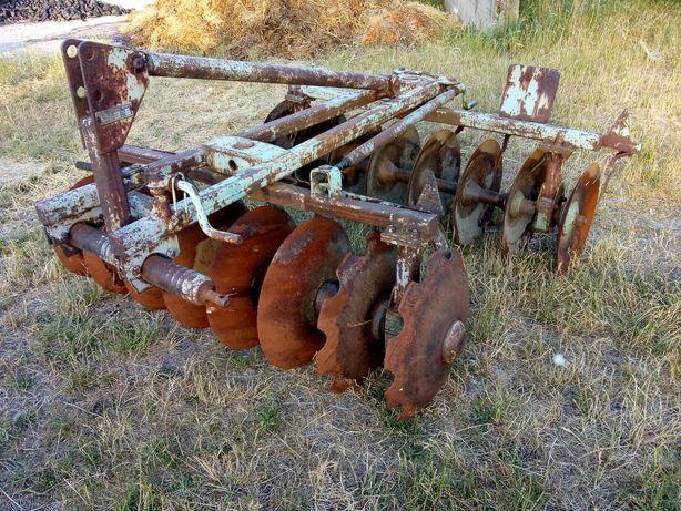 Talerzówka 2x8 1,8m talerze 50cm brona talerzowa maszyny rolnicze