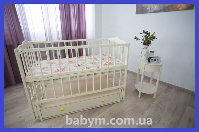 Ліжко/ліжечко дитяче/колиска/БЕЗКОШТОВНА ДОСТАВКА/Чер2