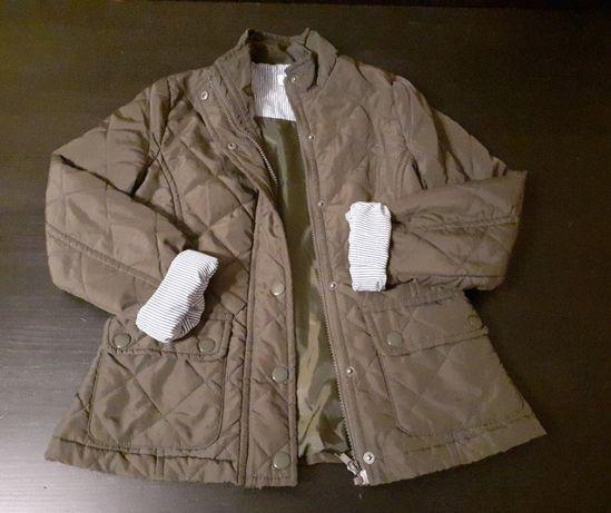 kurtka dla dziewczynki rozmiar 128-134 na konie