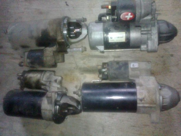 BMW X5 X6 E71 E53 E70 стартер генератор m57n2 n57 n52b30 m54 m62b44