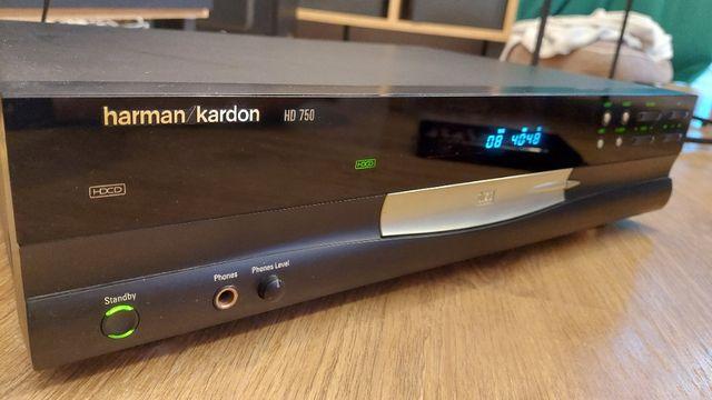 Odtwarzacz CD Harman-Kardon HD 750 HD750 + pilot - Warszawa
