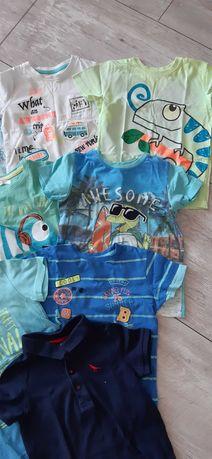 Koszulka, t-shirt 10szt. w rozmiarze 98