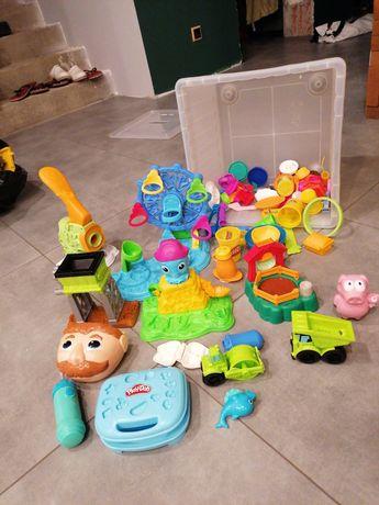 Zabawki play doh 7 zestawów stan bdb ciastolina