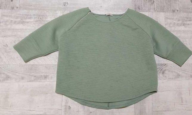 Bluza blezer gofrowany miętowy One Size