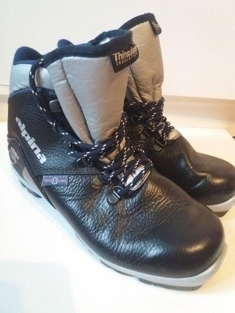 Jak nowe skórzane buty do nart biegowych Alpina NNN 120. Thinsulate.38