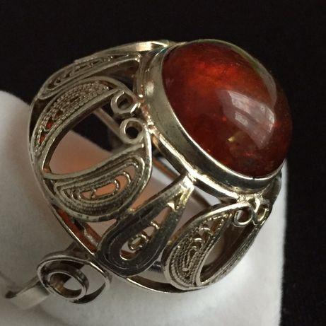 Stary srebrny pierścionek Imago Artis