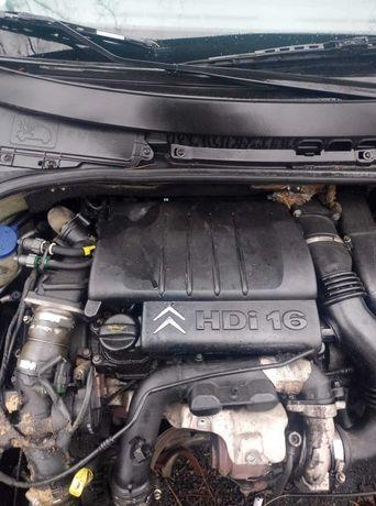 Silnik 1.6 hdi c3