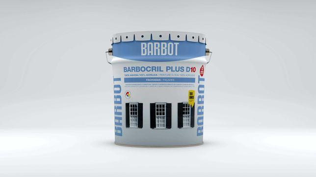 Tinta Barbot Barbocril Plus D10  branca 15L
