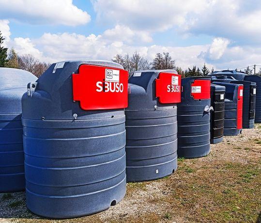 Zbiornik na ropę ON dwupłaszczowy 2500l