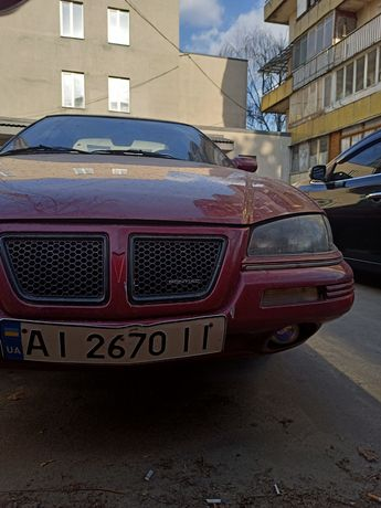 Pontiac Grand AM 1992 (машина, автомобиль)