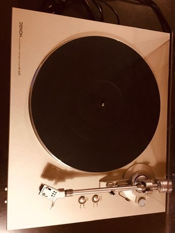 Gramofon DENON DP-300F Srebrny