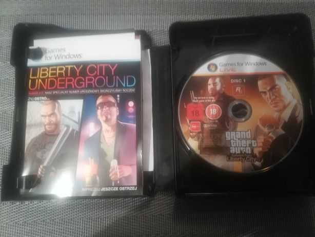 GTA episodes from liberty city - NOWA 2 gry OKAZJA