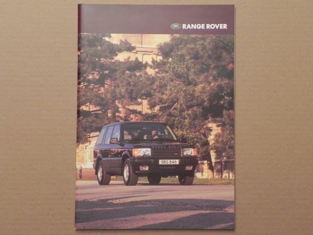 Prospekt - RANGE ROVER - 199? r