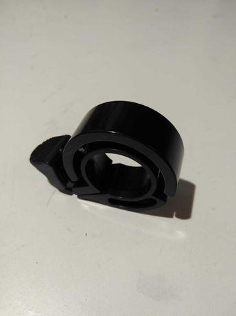 Dzwonek rowerowy Ring jak Knog Oi czarny mały