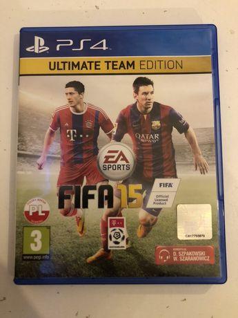 Gra na PS4 FIFA 15 stan idealny