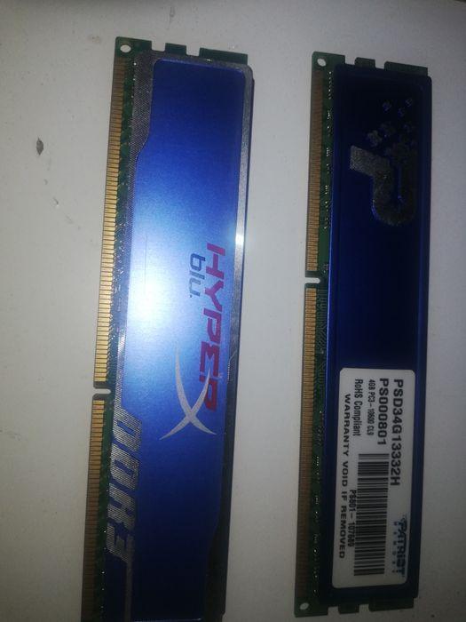 Pamięć RAM Ddr3   cena za 2 sztuki Popielów - image 1