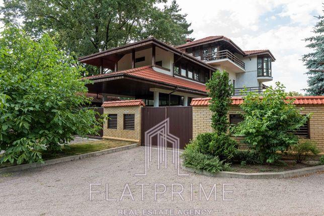 Срочно, цена ниже рынка, роскошный особняк в черте Киева, КГ Чайки