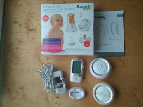 Цифровая радионяня 2 блока и монитор дыхания Ramili Baby