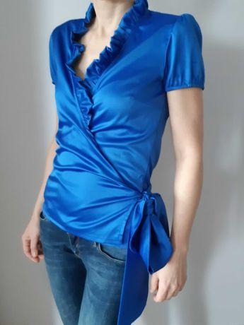 Elegancka bluzka z wiązaniem, rozm. S