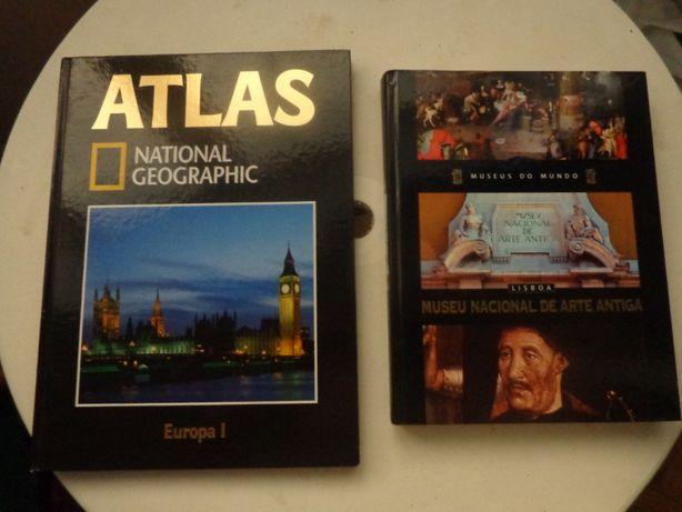 Atlas nacional goegrafic livro dos museus