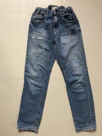 Spodnie zara jeans 140