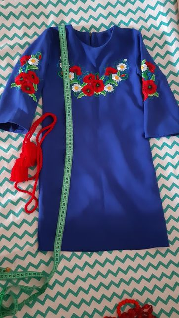 Вишиванка-платье