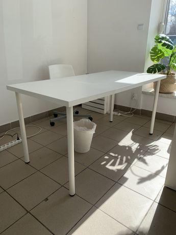 Stół stolik biurko stoły 2 szt biały Ikea
