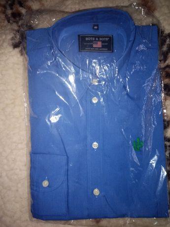 Nowa koszula męska z dl. Rękawem rozm 40