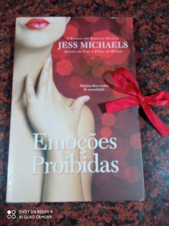Emoções Proibidas - de Jess Michaels - NOVO