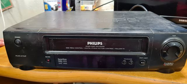 Magnetowid vhs philips vr200/58