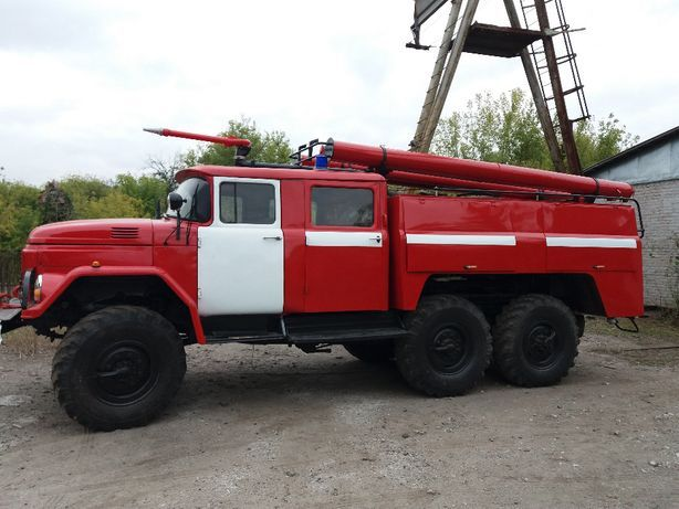 Пожарная машина, пожежний автомобіль ЗИЛ 131