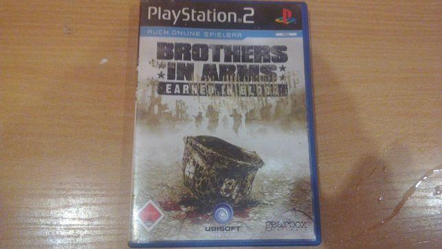 Brothers In Arms Earned In Blood PS2 język w grze angielski