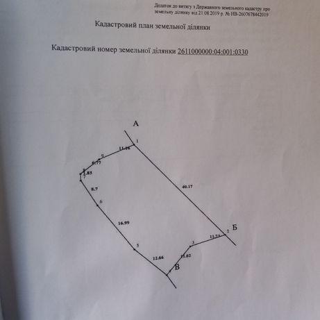 Продам земельну ділянку в м.Яремче