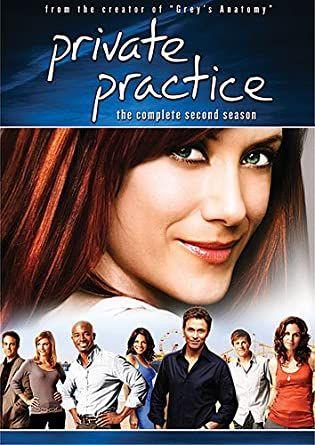 Private Practice - Clínica Privada - 2ª temporada 6 DVD's