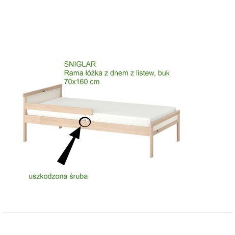 Łóżko ikea singlar 70x160