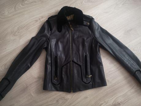 Кожаная куртка Cavalli