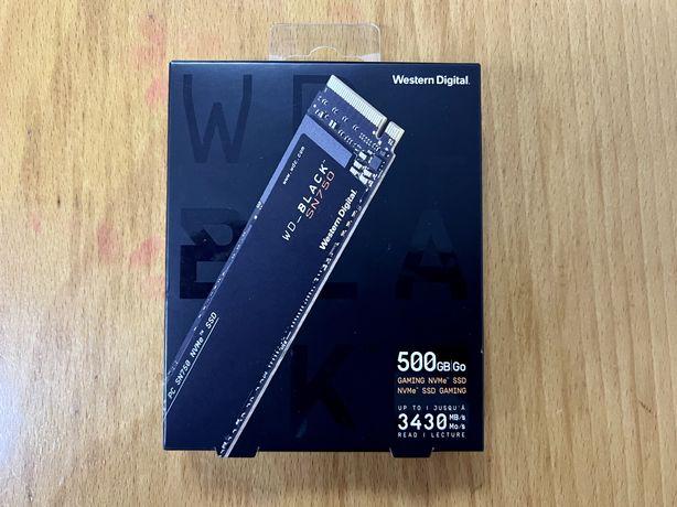 SSD M.2 2280 Western Digital Black SN750 500GB 3D NAND NVMe