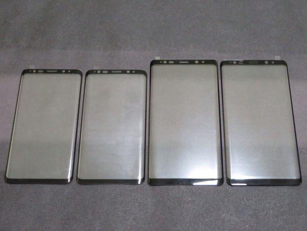 Película Vidro Curva 5D - Samsung S8/S9/S10/S20/S21/Note 8/9/10/20