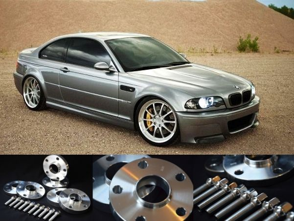 DYSTANSE 10/15/20/25/30mm do BMW SERIA 3 E30 E36 E46 E90 - NOWE! fvat