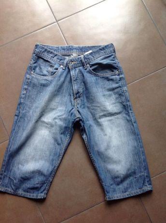 H&M młodzieżowe krótkie spodenki jeansowe stan bardzo dobry