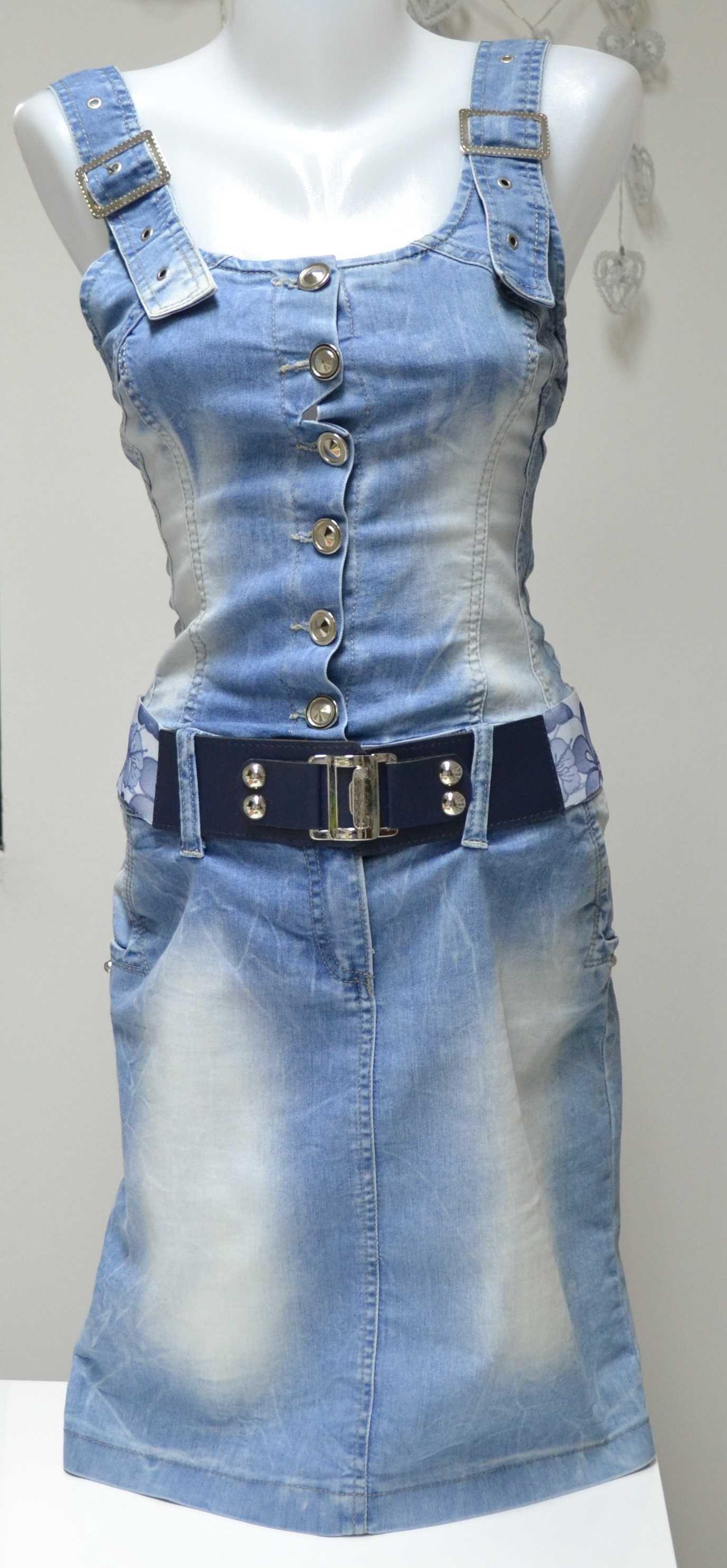 Jeansowa sukienka rozm. 36