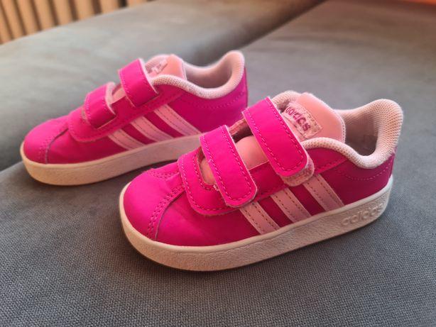 Buty dziecięce różowe Adidasy  nr 23