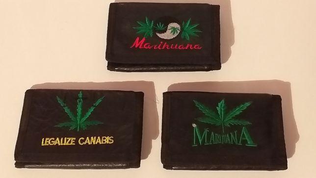 Carteiras novas - Cannabis / Marijuana - portes incluidos