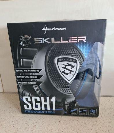 Słuchawki gamingowe Sharkoon Skiller SGH1 Stereo