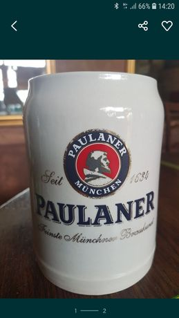 Kufel ceramiczny Paulaner