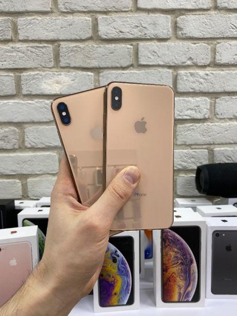 iPhone Xs Max 256Gb Gold Neverlock Идеальное состояние с Гарантией