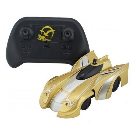 Нова антигравітаційна машинка CLIMBER WALL RACER золото ціна 400грн