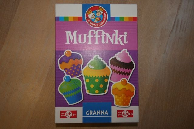 Gra Muffinki firmy GRANNA - NOWA