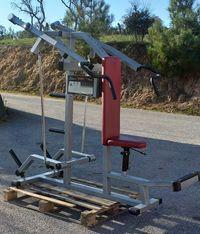 GYMAQ- press de ombros de peso livre olímpica  musculação ginasio