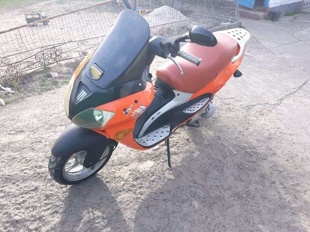 Скутер Вайпер тигр 150
